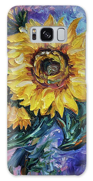 That Sunflower From The Sunflower State Galaxy Case
