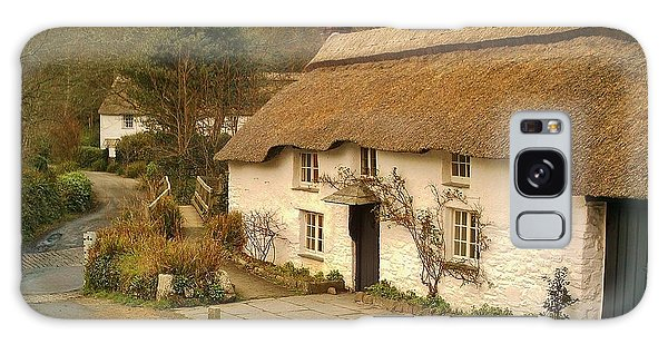 Thatched Cottage By Ford  Galaxy Case by Richard Brookes