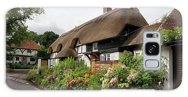 Thatched Cottages In Micheldever Galaxy Case