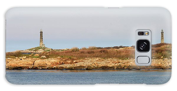 Thatcher Island Twin Lights Gloucester Massachusetts Galaxy Case