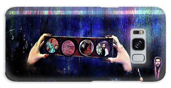 The 4 Horsemen Of The Apocalypse Galaxy Case by Albert Puskaric