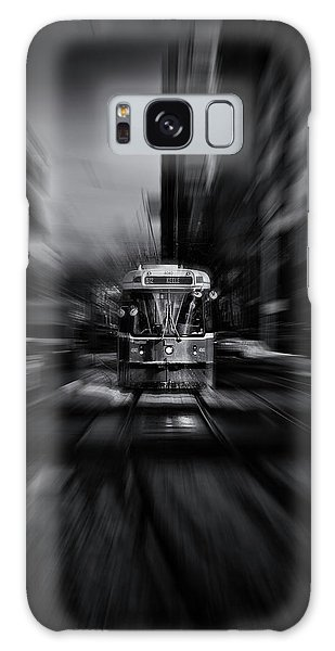 Galaxy Case featuring the photograph The 512 St. Clair Streetcar Toronto Canada Flow by Brian Carson