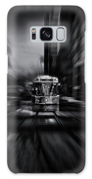 The 512 St. Clair Streetcar Toronto Canada Flow Galaxy Case