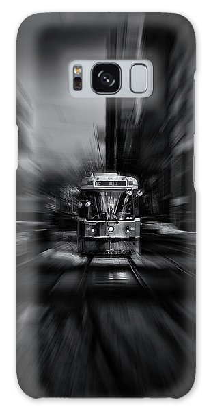 The 512 St. Clair Streetcar Toronto Canada Flow Galaxy Case