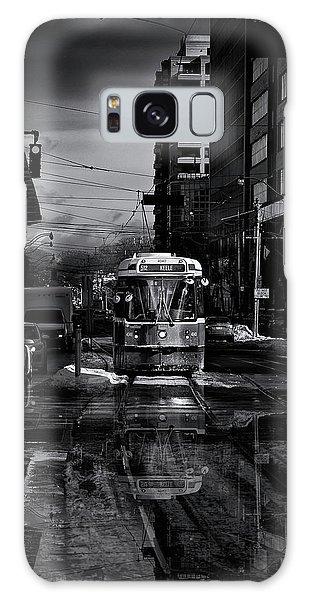The 512 St. Clair Streetcar Toronto Canada Reflection Galaxy Case