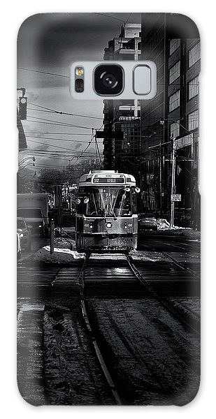 Galaxy Case featuring the photograph The 512 St.clair Streetcar Toronto Canada by The Learning Curve Photography