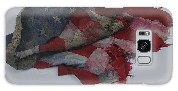 The 9 11 W T C Fallen Heros American Flag Galaxy Case