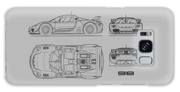 Hybrid Galaxy Case - The 918 Spyder Blueprint by Mark Rogan