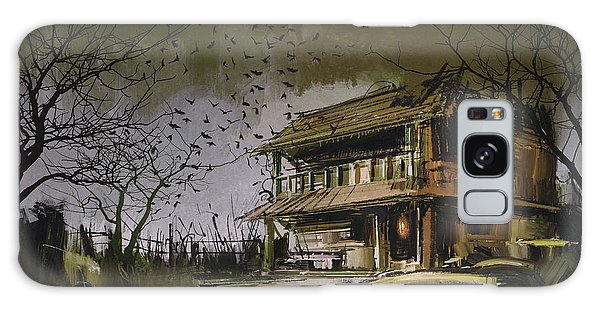 The Abandoned House Galaxy Case