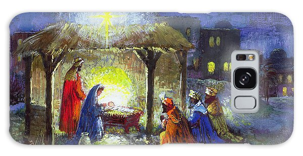 Bethlehem Galaxy Case - The Adoration Of The Magi  by Stanley Cooke