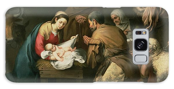 Joseph Galaxy Case - The Adoration Of The Shepherds by Bartolome Esteban Murillo