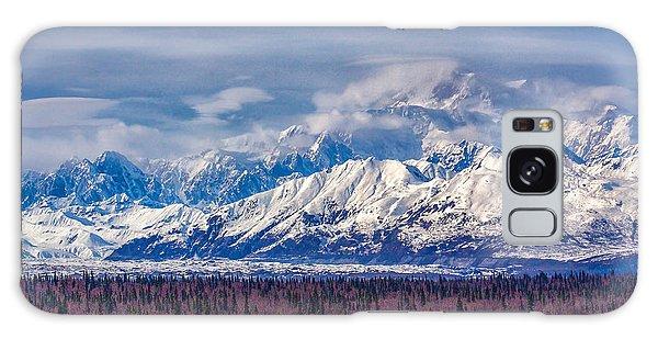 The Alaska Range At Mount Mckinley Alaska Galaxy Case