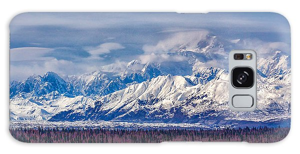 The Alaska Range At Mount Mckinley Alaska Galaxy Case