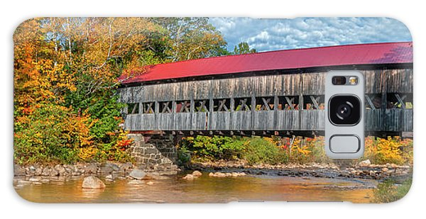 Galaxy Case featuring the photograph The Albany Bridge - Kancamagus Highway by Expressive Landscapes Fine Art Photography by Thom