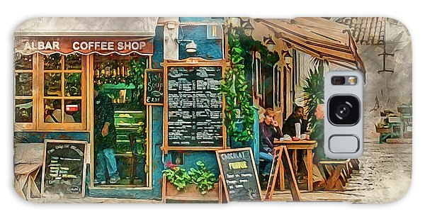 The Albar Coffee Shop In Alvor. Galaxy Case