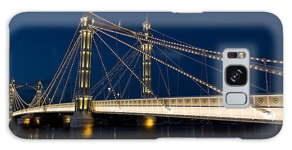 The Albert Bridge London Galaxy Case