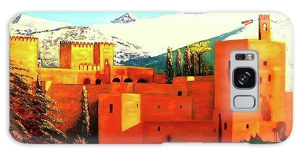 The Alhambra Of Granada Galaxy Case