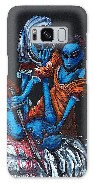 The Alien Judith Beheading The Alien Holofernes Galaxy Case