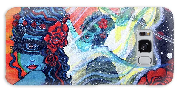 The Alien Scarlet Begonias Galaxy Case