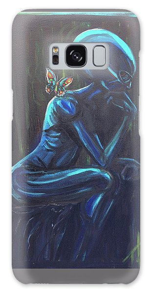 The Alien Thinker Galaxy Case