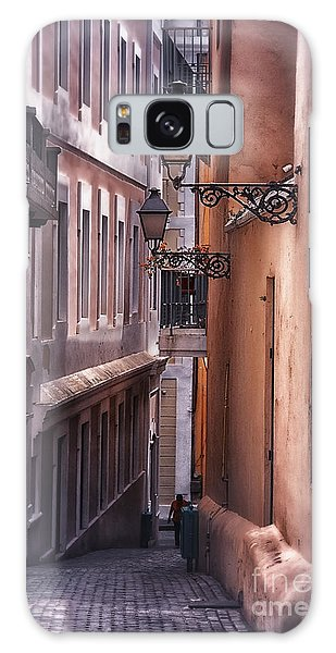 The Alleyways Of San Juan Galaxy Case by Mary Lou Chmura
