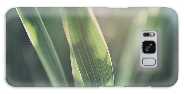The Allotment Project - Sweetcorn Leaves Galaxy Case