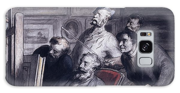 Amateur Galaxy Case - The Amateurs by Honore Daumier