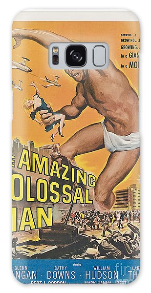 The Amazing Colossal Man Movie Poster Galaxy Case
