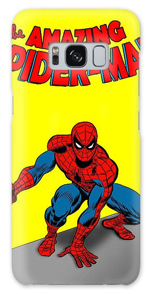 Galaxy Case featuring the painting The Amazing Spider-man by Antonio Romero