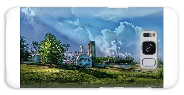 Cloudscape Galaxy Case - The Amish Farm by Marvin Spates