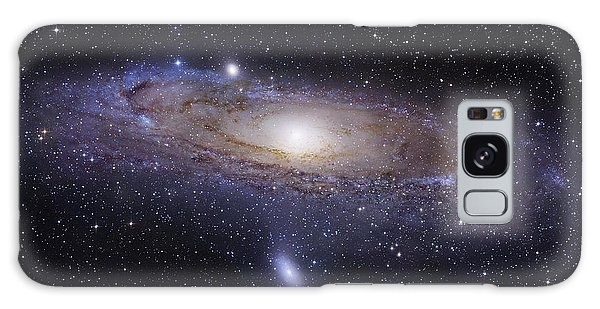 Galaxy Case featuring the photograph The Andromeda Galaxy by Robert Gendler