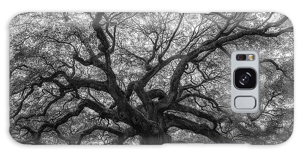 The Angel Oak Tree Bw  Galaxy Case