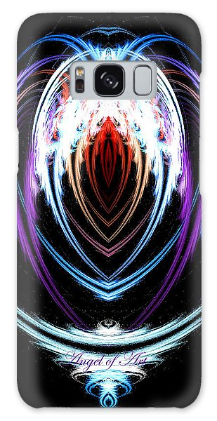 The Angel Of Art Galaxy Case