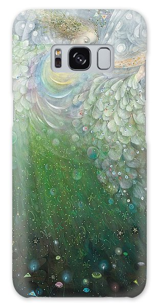 The Angel Of Growth Galaxy Case by Annael Anelia Pavlova