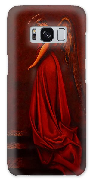 The Angel Of Love Galaxy Case