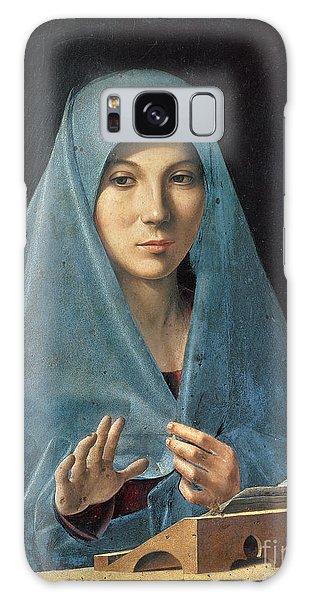 Annunciation Galaxy Case - The Annunciation by Antonello da Messina