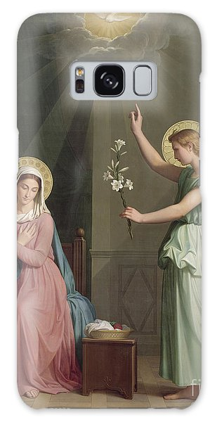 The Sky Galaxy Case - The Annunciation by Auguste Pichon