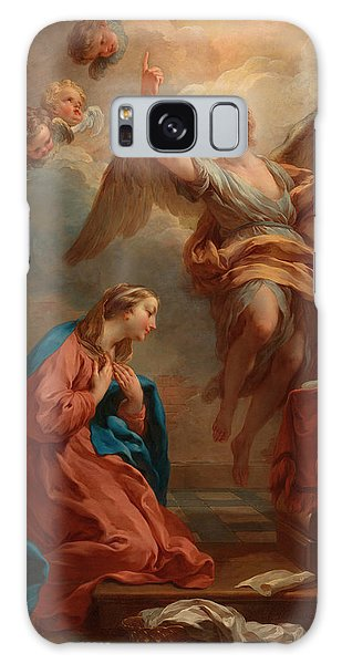 Annunciation Galaxy Case - The Annunciation by Francois Lemoyne