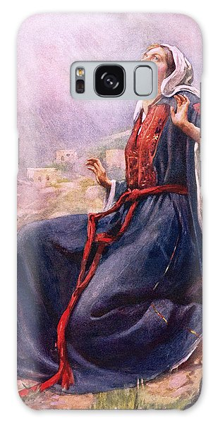 Annunciation Galaxy Case - The Annunciation by Harold Copping
