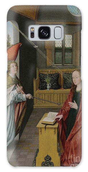 Annunciation Galaxy Case - The Annunciation by Jan Provost