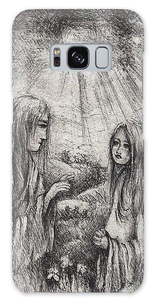 Galaxy Case - The Annunciation by Rachel Christine Nowicki