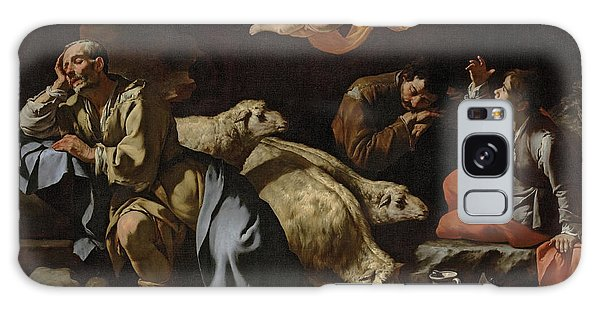 Annunciation Galaxy Case - The Annunciation To The Shepherds by Master of the Annunciation to the Shepherds