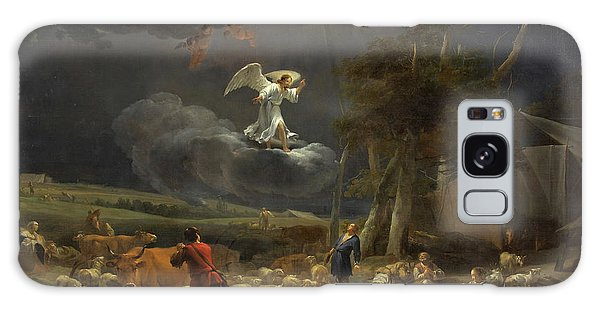 Annunciation Galaxy Case - The Annunciation To The Shepherds by Nicolaes Pietersz Berchem