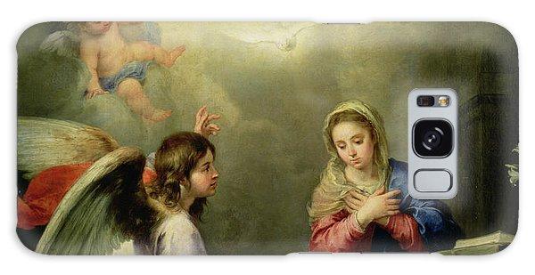 Annunciation Galaxy Case - The Annunciation by Bartolome Esteban Murillo