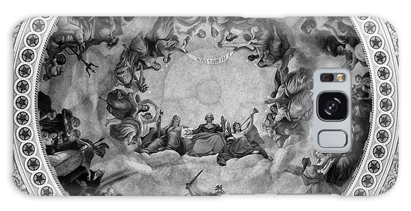 The Apotheosis Of Washington In Black And White Galaxy Case