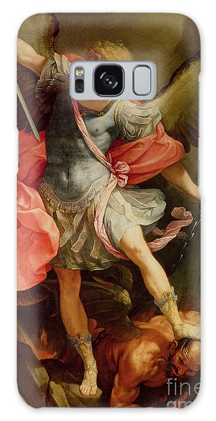 Oil Galaxy Case - The Archangel Michael Defeating Satan by Guido Reni
