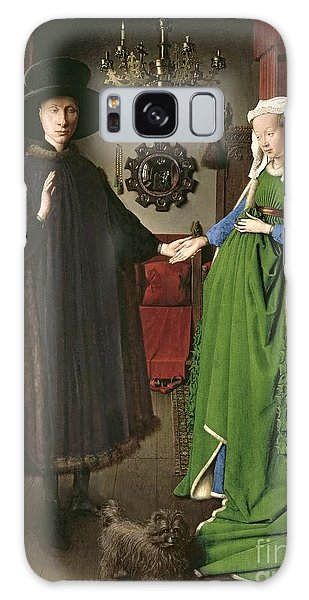Symbolism Galaxy Case - The Arnolfini Marriage by Jan van Eyck
