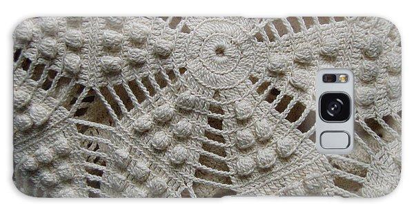 The Art Of Crochet  Galaxy Case