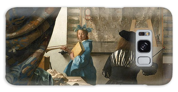 Jan Vermeer Galaxy Case - The Art Of Painting by Jan Vermeer