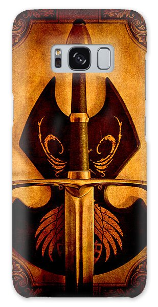Framing Galaxy Case - The Art Of War - Eternal Portrait Of A Warrior by Loriental Photography